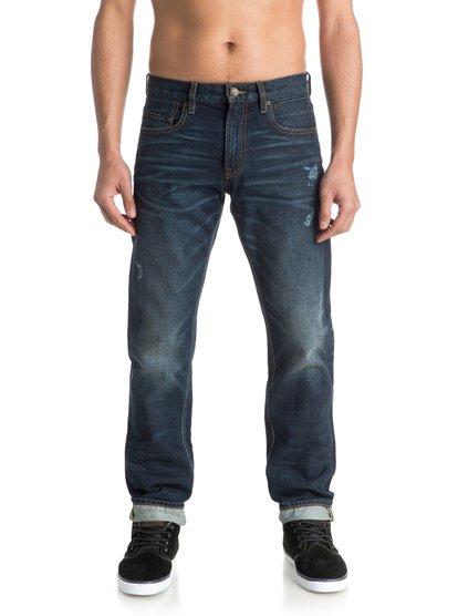 Прямые джинсы Revolver Agy Blue 32»