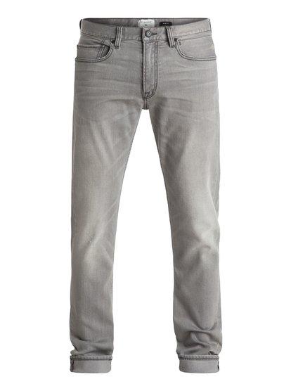 "Distorsion Grey Damaged 32"" - Slim Fit Jeans  EQYDP03243"