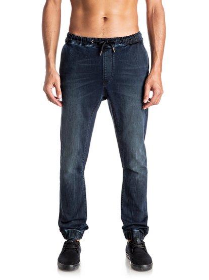 Узкие спортивные джинсовые штаны Fonic Blue Black&amp;nbsp;<br>