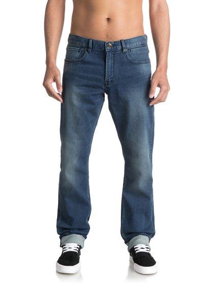 Прямые джинсы Revolver Iron Blue<br>