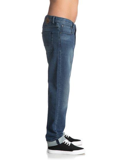 Прямые джинсы Revolver Iron Blue