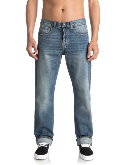 Sequel Burnt Blue - Regular Fit Jeans  EQYDP03341