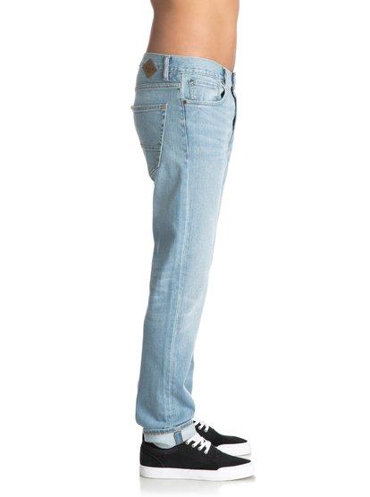 Прямые джинсы Revolver Foam Blue