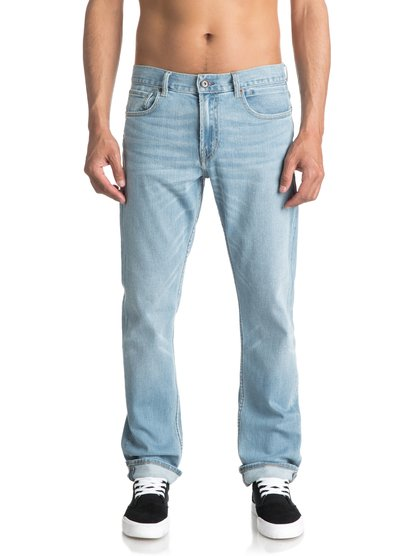Revolver Foam Blue - Straight Fit Jeans  EQYDP03343
