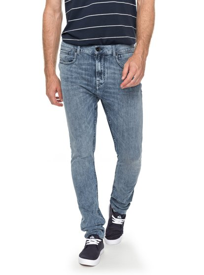 Low Bridge 90 summer - jean skinny pour homme - bleu - quiksilver