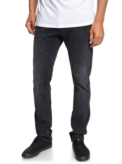 Distorsion Vintage black - jean slim pour homme - noir - quiksilver