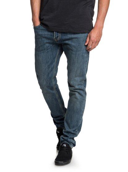 Distorsion Medium blue - jean slim pour homme - bleu - quiksilver