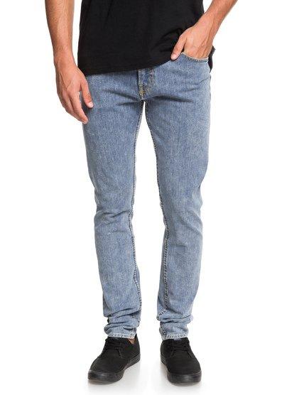 Distorsion Salt water - jean slim pour homme - bleu - quiksilver