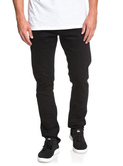 Distorsion Black black - jean slim pour homme - noir - quiksilver