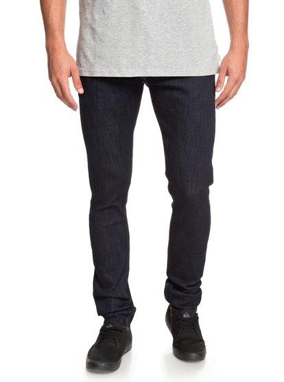 Distorsion Rinse - jean slim pour homme - bleu - quiksilver