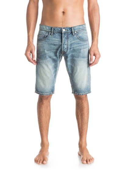 Quiksilver Men's Revolver Elder Denim Shorts