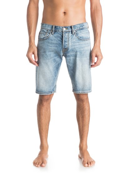 Quiksilver Men's Sequel Dustbowl Denim Shorts