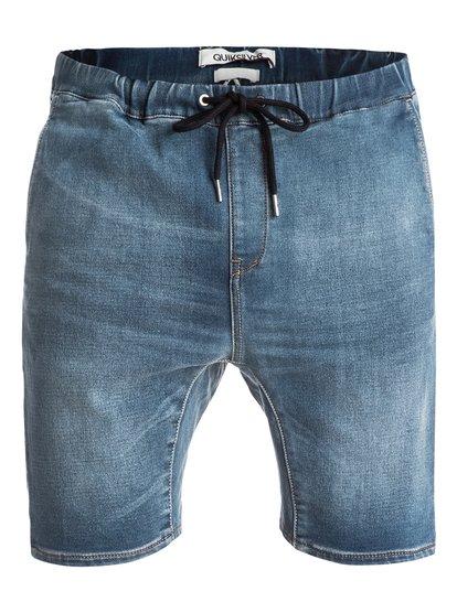 Fonic Denim Fleece - Denim Shorts  EQYDS03045