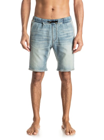 Узкие джинсовые шорты Fonic Blur от Quiksilver