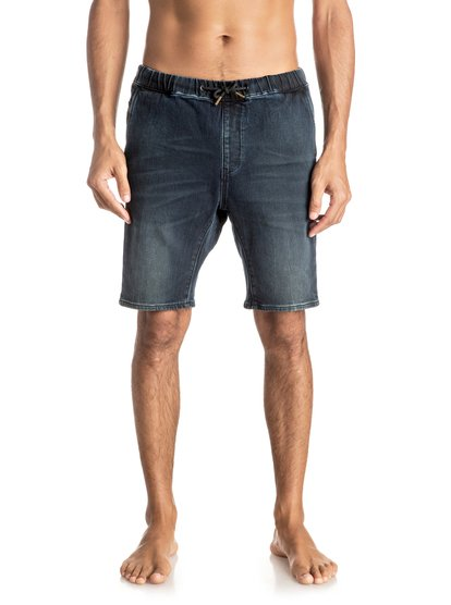 Джинсовые шорты Fonic Blue Black<br>