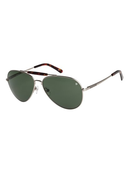 Barrett Premium Polarised - Lunettes de soleil pour Homme - Gris - Quiksilver