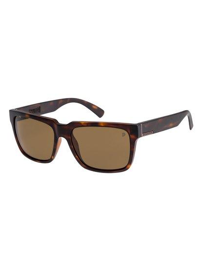 Bruiser Polarised - lunettes de soleil pour homme - marron - quiksilver