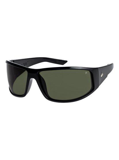 Akdk Polarised - lunettes de soleil pour homme - vert - quiksilver