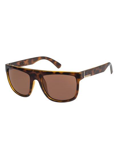 Bratstyle - lunettes de soleil pour homme - marron - quiksilver