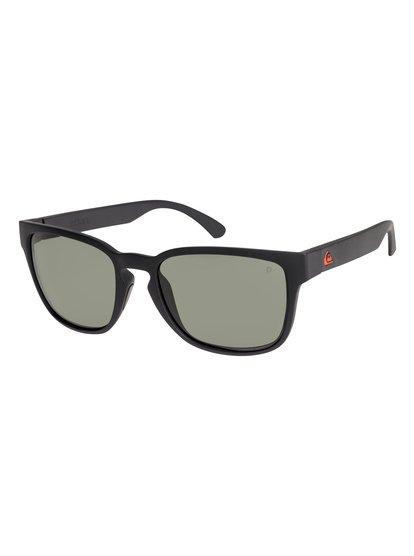 Rekiem Polarised Floatable - Lunettes de soleil pour Homme - Noir - Quiksilver