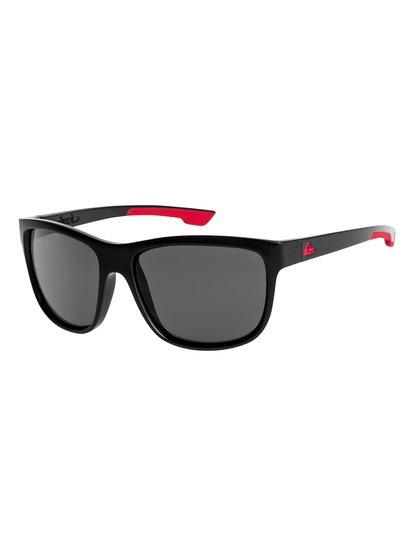 Crusader - lunettes de soleil pour homme - noir - quiksilver