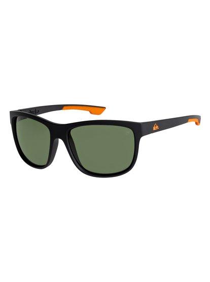 Crusader - lunettes de soleil polarisées flottantes pour homme - noir - quiksilver