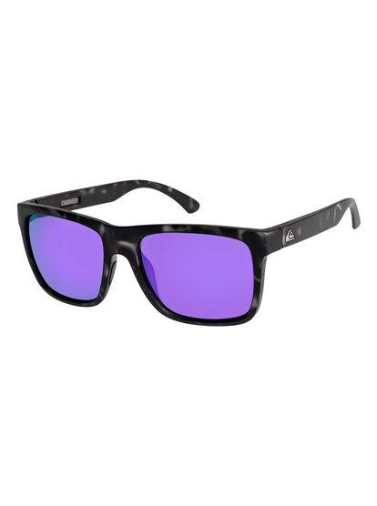 Charger - lunettes de soleil pour homme - marron - quiksilver