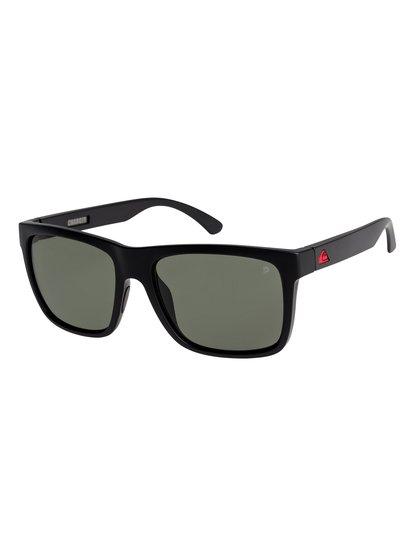 Charger - lunettes de soleil polarisées flottantes pour homme - noir - quiksilver