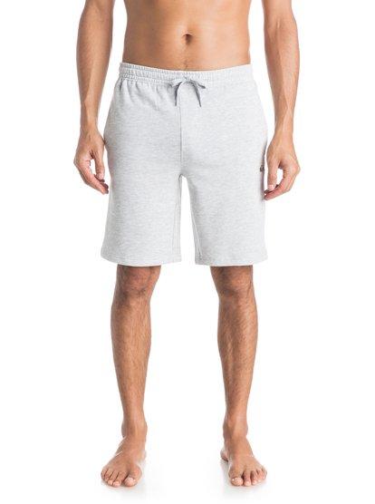 Mens Everyday Track ShortsМужские шорты Everyday Track от Quiksilver. <br>ХАРАКТЕРИСТИКИ: стандартный крой, длина 50,8 см (20) с подвернутыми краями, мягкий флис с начесом, задний карман. <br>СОСТАВ: 60% хлопок, 40% полиэстер.<br>