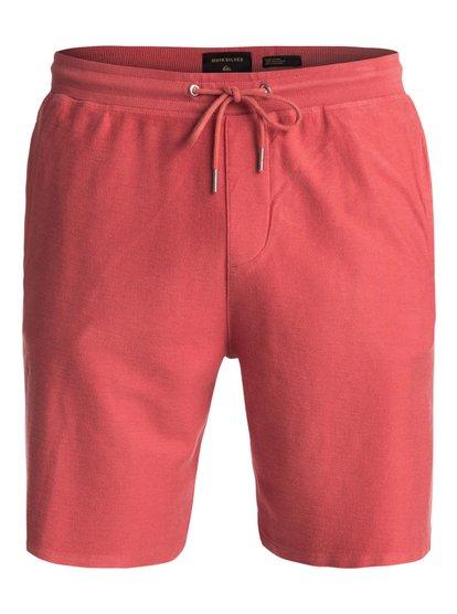 Baao - shorts de sport pour homme - rose - quiksilver