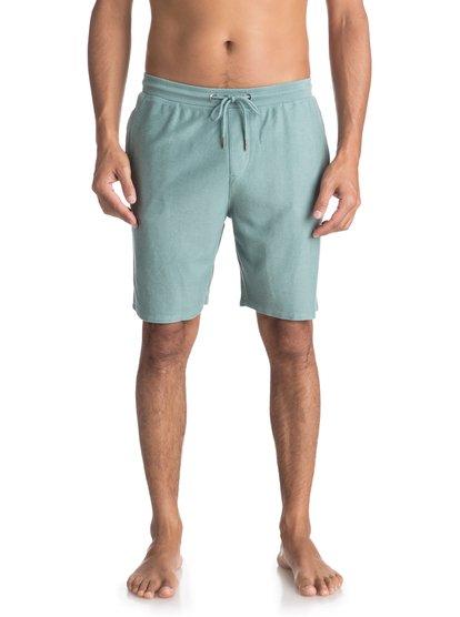 Baao - shorts de sport pour homme - bleu - quiksilver
