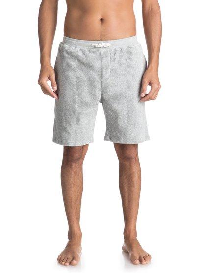 Diamond Tail - short en molleton pour homme - gris - quiksilver