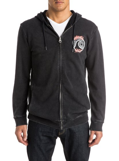 Quiksilver Ghetto Surf Zip Up Hoodie