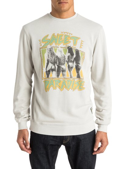Men's Paradise Crew Sweatshirt от Quiksilver RU