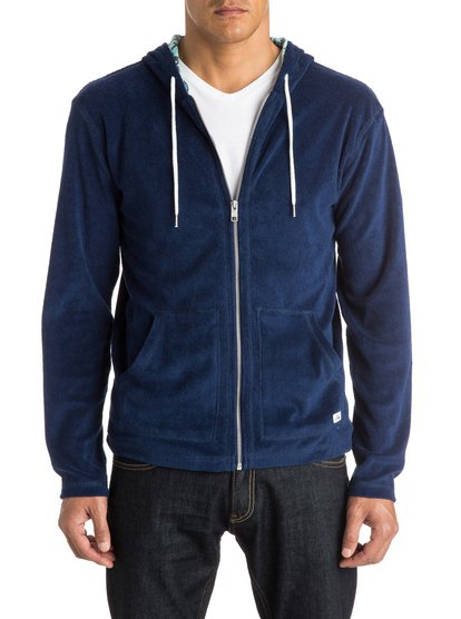 Quiksilver Men's Olenka Summer Zip Up Hoodie