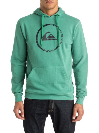 Quiksilver Everyday Active Check Pull Over Hoodie