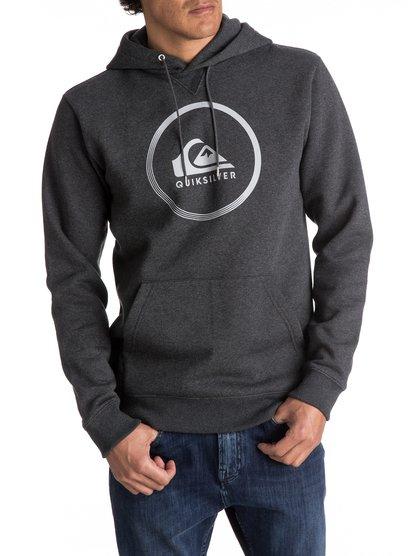 Big Logo - sweat à capuche pour homme - noir - quiksilver