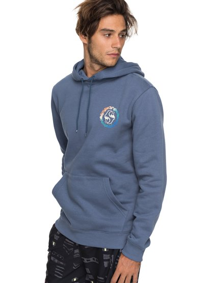 Authorized Dealers 1 - sweat à capuche pour homme - bleu - quiksilver
