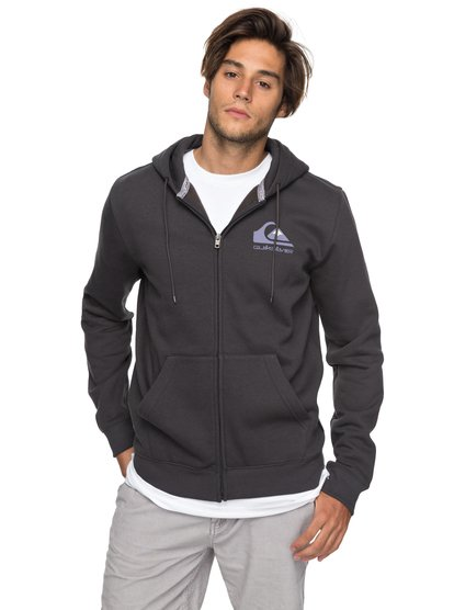 Authorized Dealers 2 - sweat à capuche zippé pour homme - noir - quiksilver
