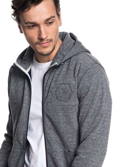 Yattemi - Sweat à capuche technique zippé pour Homme - Noir - Quiksilver