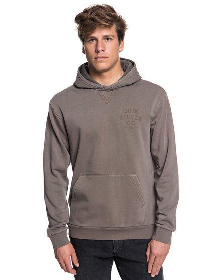 Aso Plains - sweat à capuche pour homme - gris - quiksilver