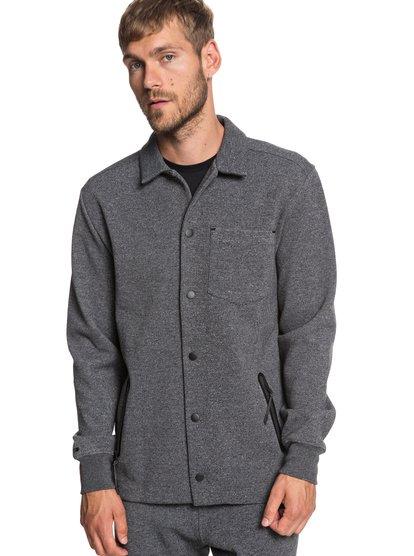Adapt - veste déperlante en matière contrecollée pour homme - noir - quiksilver