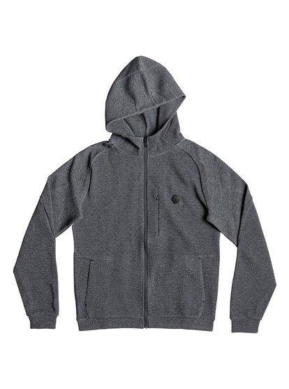 Adapt Travel - sweat à capuche zippé déperlant pour homme - noir - quiksilver