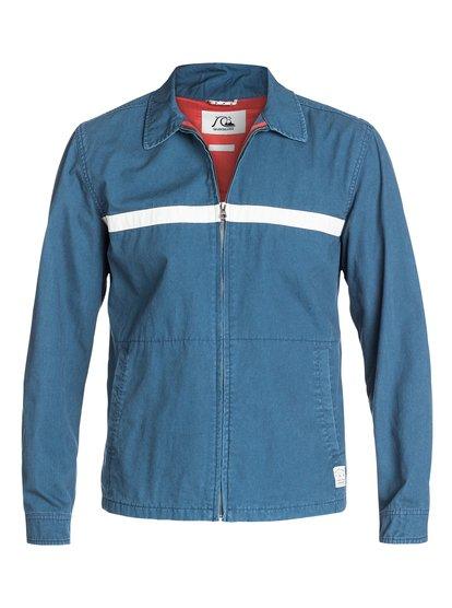 quiksilver shepton jacket dark denim brq0