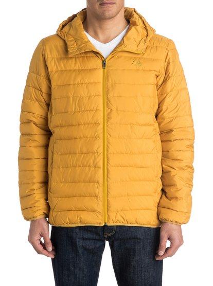 ScalyМужская куртка с утеплителем Scaly от Quiksilver. Характеристики: стопроцентный полиэстер, узкий крой, два боковых кармана. <br>СОСТАВ: 100% полиэстер.<br>