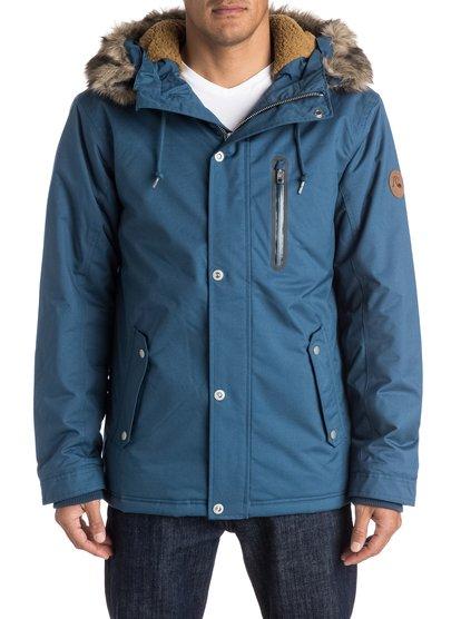 Мужская куртка ArrisМужская куртка Arris из новой сноубордической коллекции Quiksilver. ХАРАКТЕРИСТИКИ: Dry Flight 10K, водостойкость 10 000 мм, дышащие свойства 10 000 г/кв. м, 3M™ Thinsulate™ type KK™ 240 г (тело) / 180 г (рукава) / 140 г (капюшон). СОСТАВ: 100% полиэстер.<br>