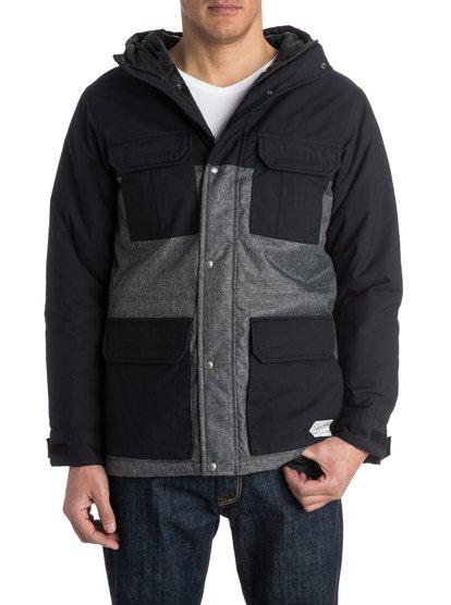 Longbay WoolМужская куртка для аутдора Longbay Wool от Quiksilver. Характеристики: сочетание хлопка и нейлона, стандартный крой, хлопчатобумажная подкладка. <br>СОСТАВ: 68% хлопок, 32% нейлон.<br>