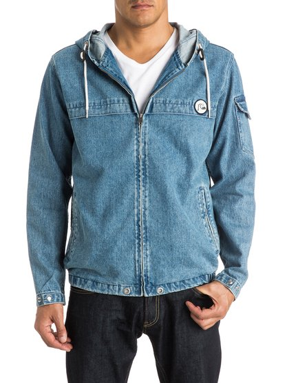 Quiksilver Men's Denim Capsule Denim Jacket