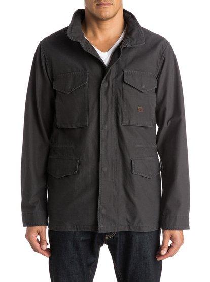 Куртка-парка RochfordМужская куртка-парка Rochford от Quiksilver.ХАРАКТЕРИСТИКИ: стиль «милитари», хлопчатобумажная саржа обратной вязки; подкладка с принтом (включая капюшон), два нагрудных и два передних кармана.СОСТАВ: 100% хлопок.<br>