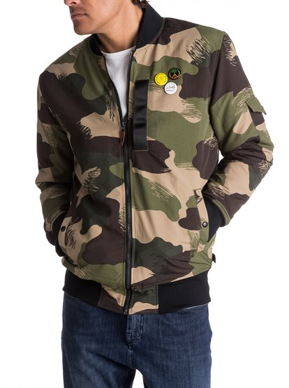 Trestles Army - Long-Fit Bomber  EQYJK03359